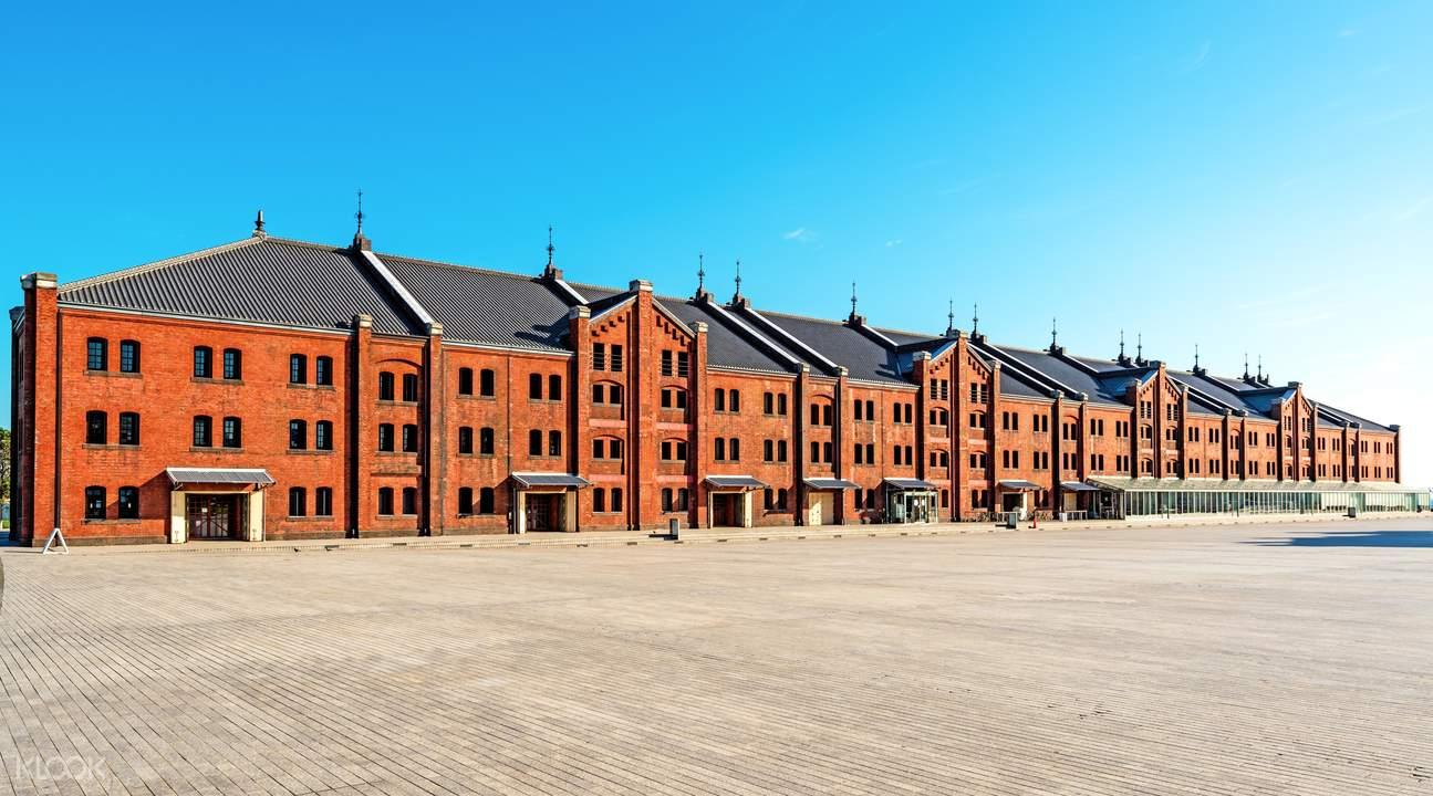 现代欧式仓库建筑外观